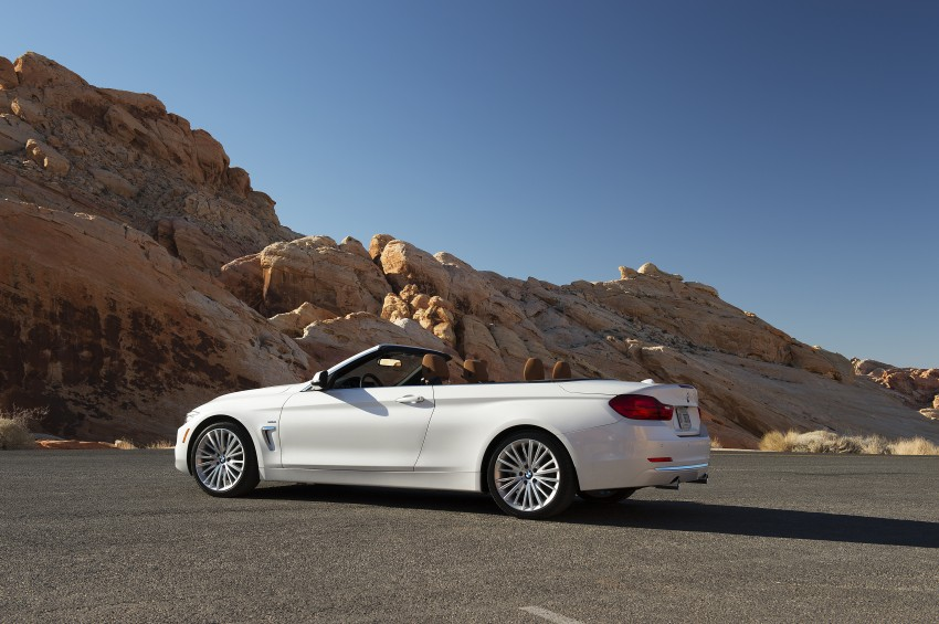 DRIVEN: BMW 435i Convertible tested in Las Vegas Image #228839