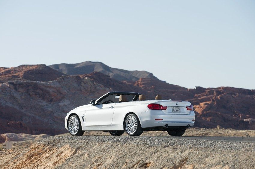 DRIVEN: BMW 435i Convertible tested in Las Vegas Image #228838