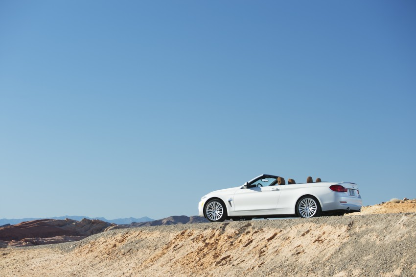 DRIVEN: BMW 435i Convertible tested in Las Vegas Image #228837