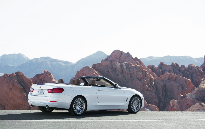 DRIVEN: BMW 435i Convertible tested in Las Vegas Image #228836