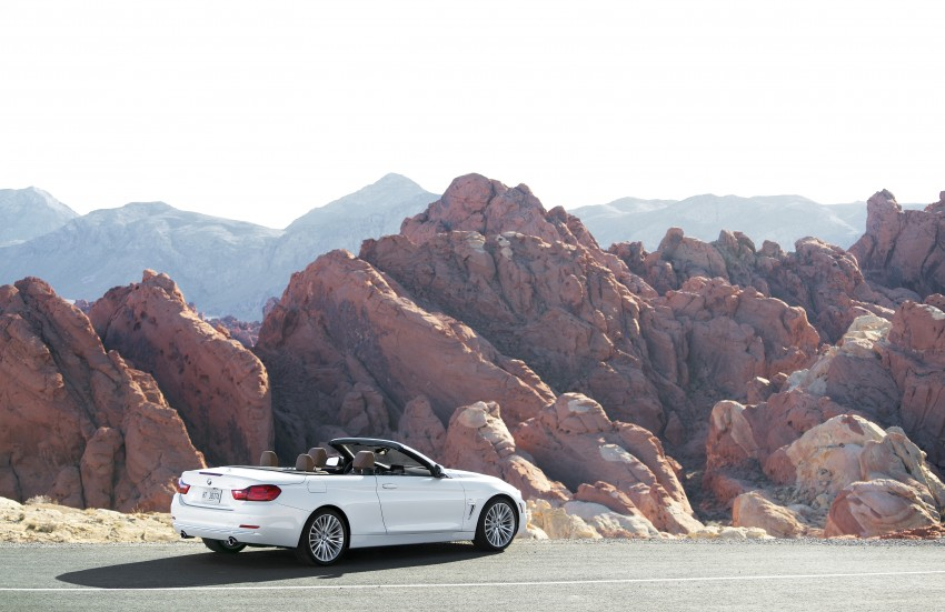 DRIVEN: BMW 435i Convertible tested in Las Vegas Image #228835