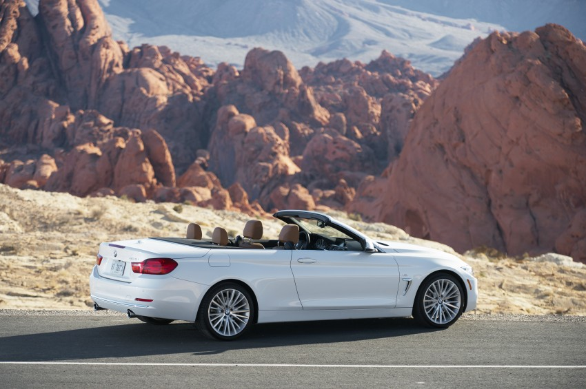 DRIVEN: BMW 435i Convertible tested in Las Vegas Image #228834