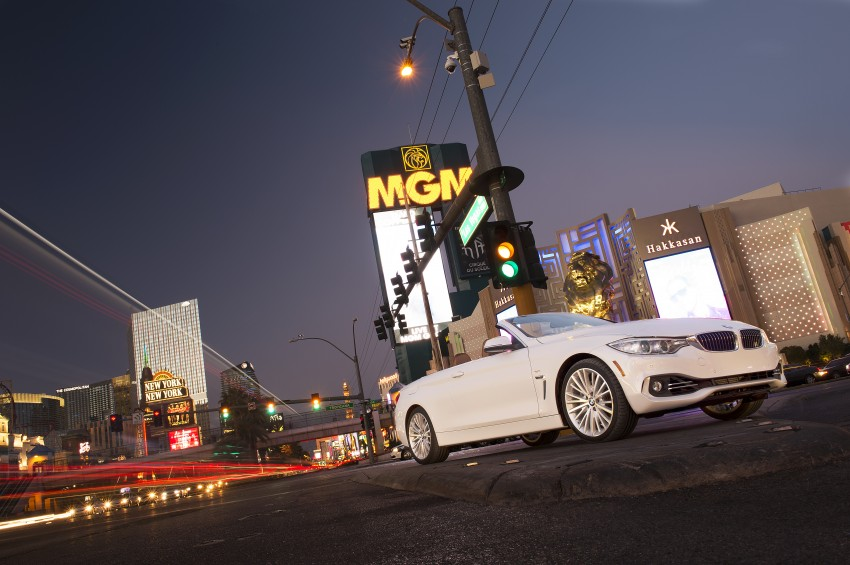 DRIVEN: BMW 435i Convertible tested in Las Vegas Image #228833