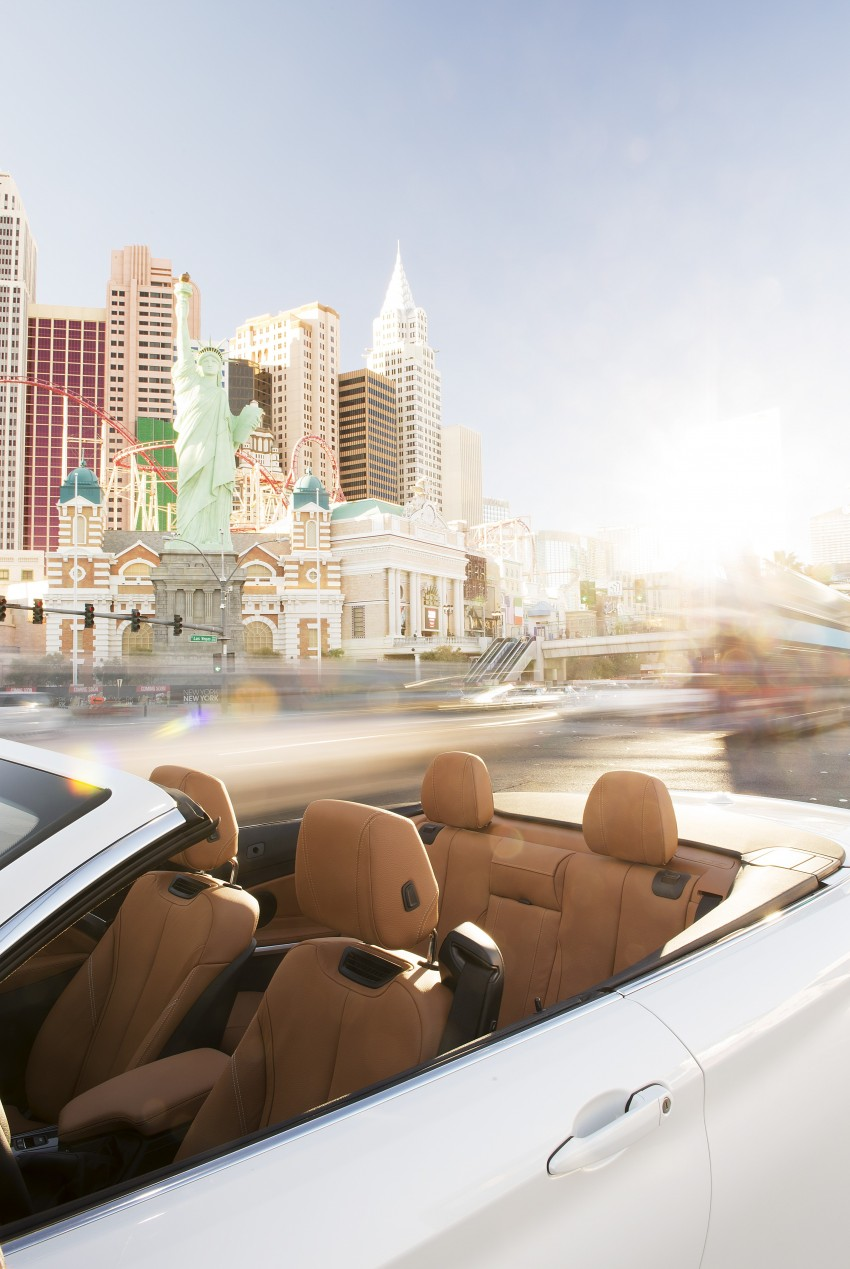 DRIVEN: BMW 435i Convertible tested in Las Vegas Image #228828