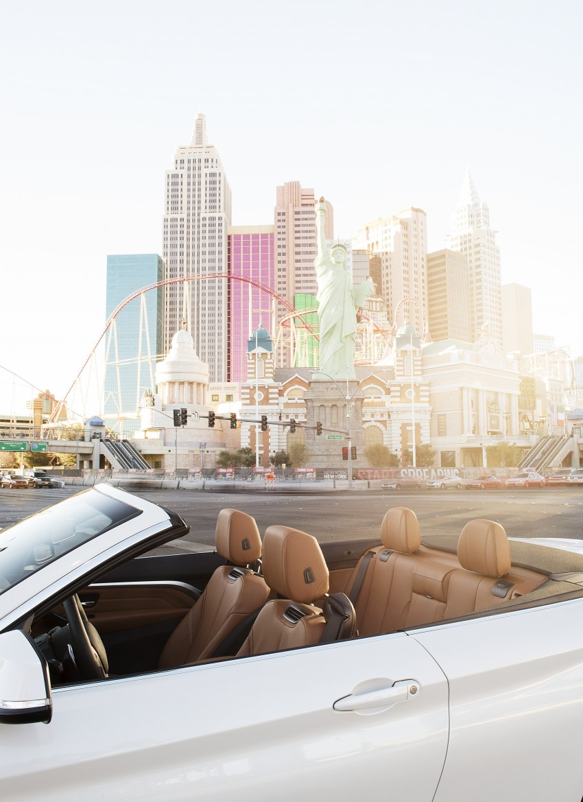 DRIVEN: BMW 435i Convertible tested in Las Vegas Image #228827