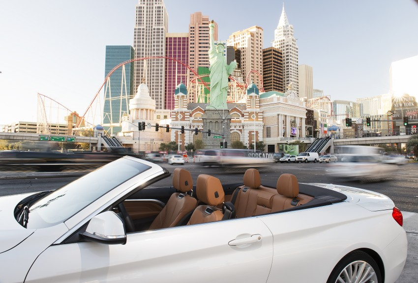 DRIVEN: BMW 435i Convertible tested in Las Vegas Image #228826