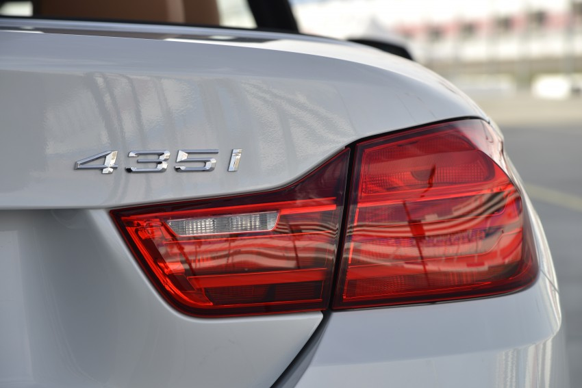 DRIVEN: BMW 435i Convertible tested in Las Vegas Image #228822