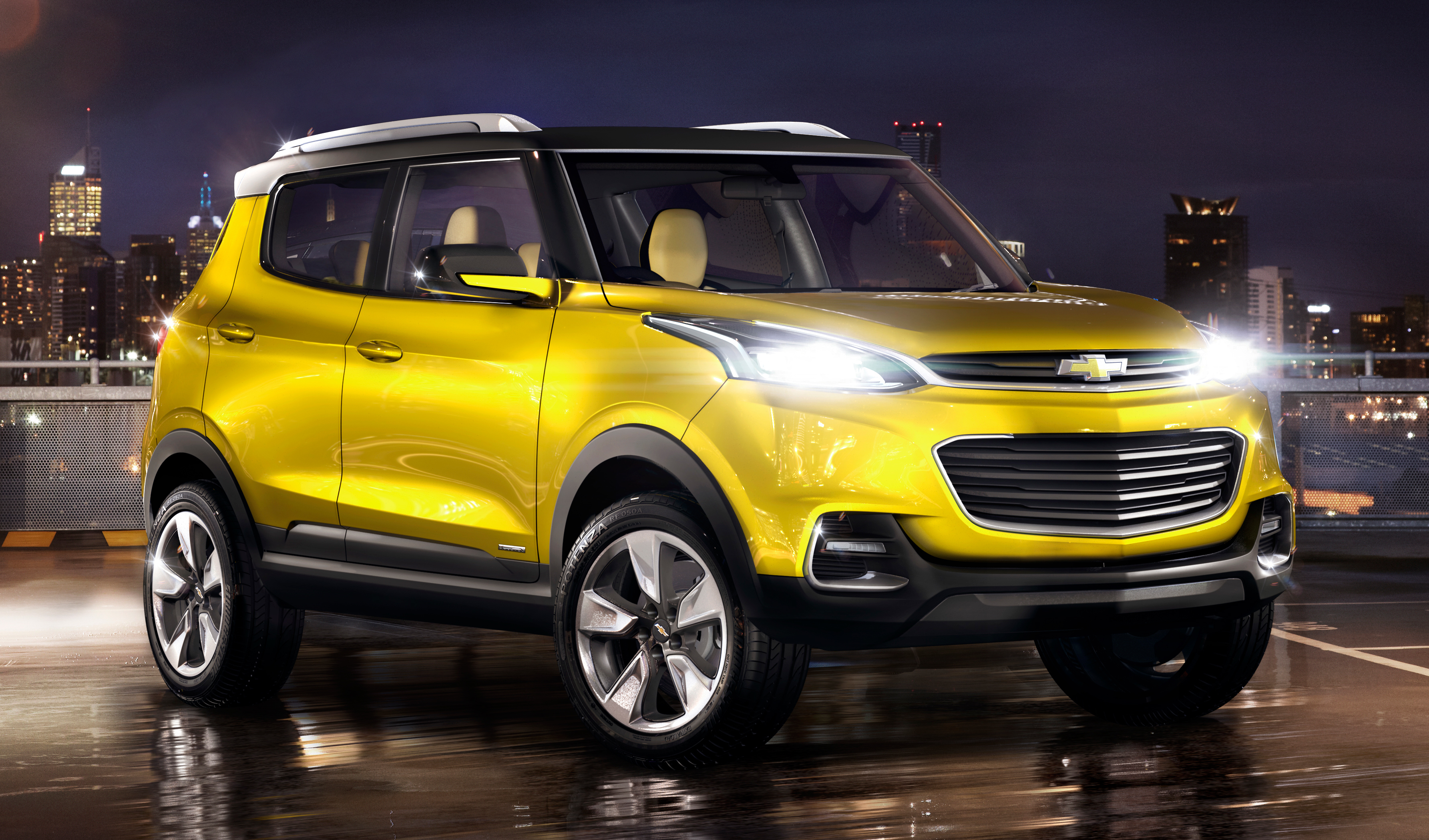Chevrolet Adra pact SUV concept debuts in Delhi Paul Tan Image