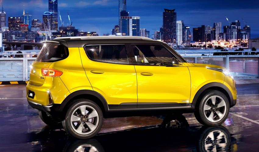 Chevrolet Adra compact SUV concept debuts in Delhi Image #226546