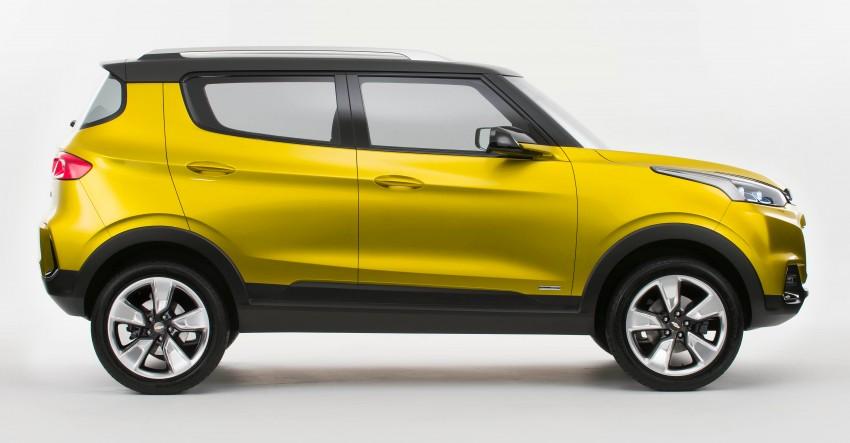 Chevrolet Adra compact SUV concept debuts in Delhi Image #226549