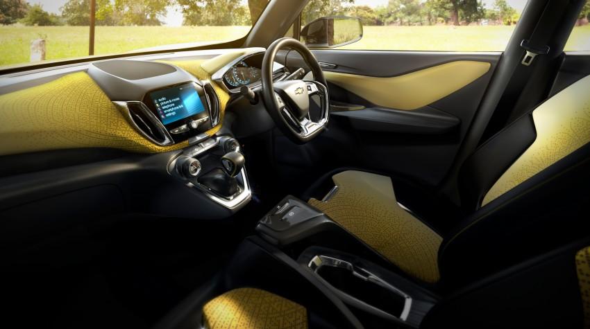 Chevrolet Adra compact SUV concept debuts in Delhi Image #226550