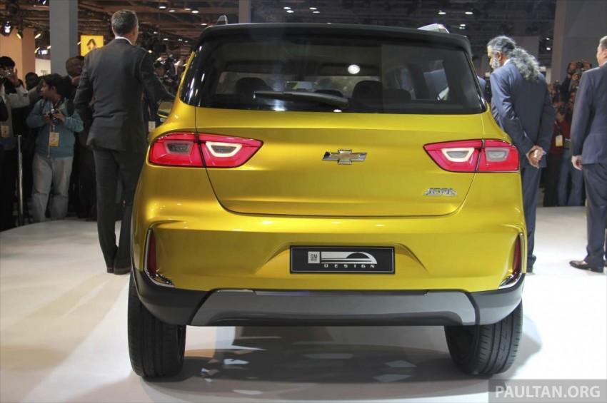 Chevrolet Adra compact SUV concept debuts in Delhi Image #226566