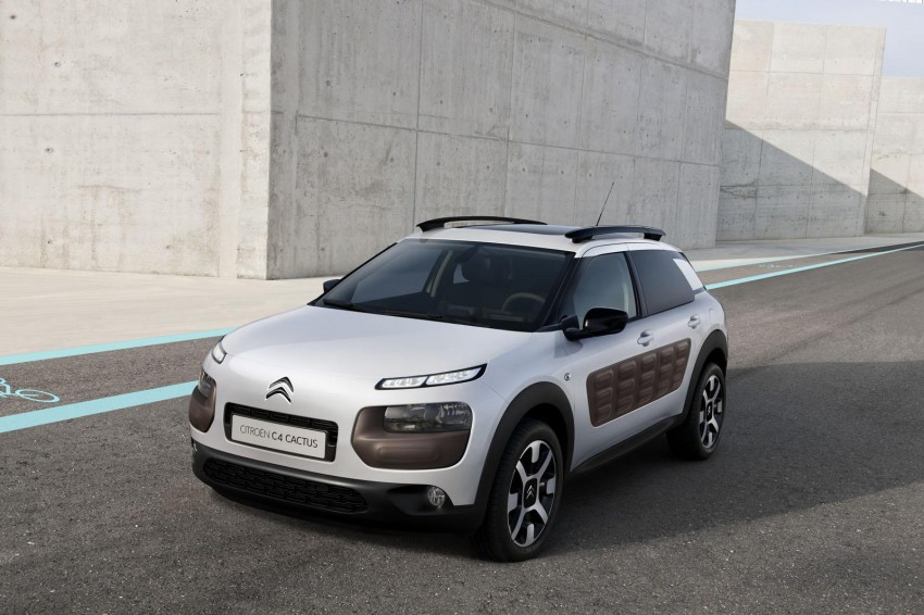 Citroen C4 Cactus unveiled with roof-mounted airbag Image #226839