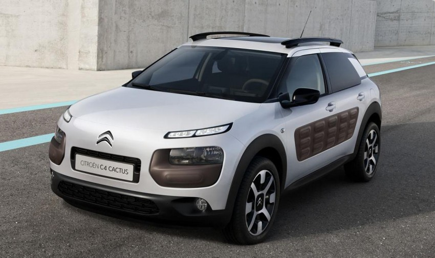 Citroen C4 Cactus unveiled with roof-mounted airbag Image #226874