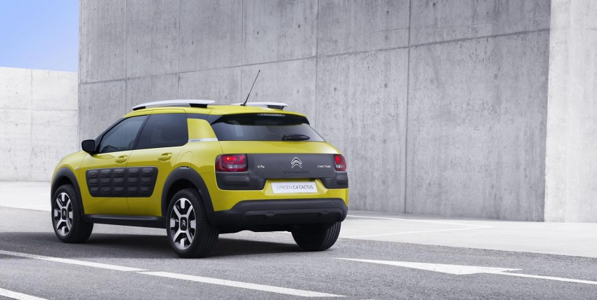 Citroen C4 Cactus unveiled with roof-mounted airbag Image #226840