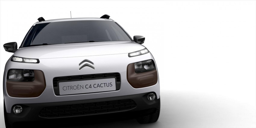 Citroen C4 Cactus unveiled with roof-mounted airbag Image #226842