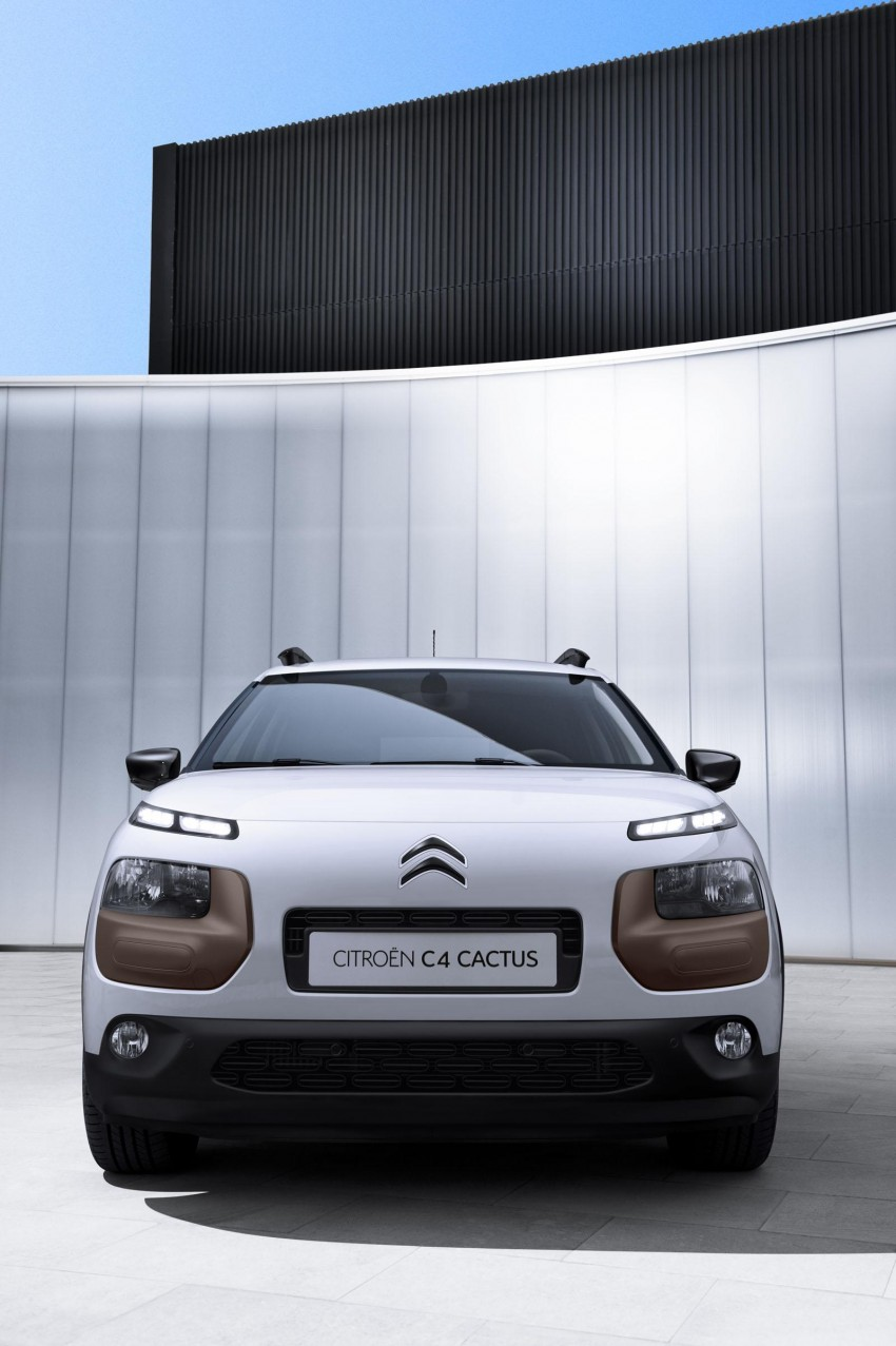Citroen C4 Cactus unveiled with roof-mounted airbag Image #226845