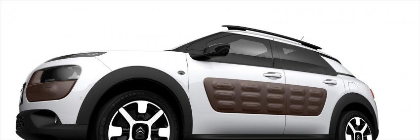 Citroen C4 Cactus unveiled with roof-mounted airbag Image #226847