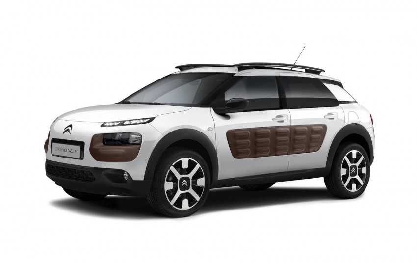 Citroen C4 Cactus unveiled with roof-mounted airbag Image #226851