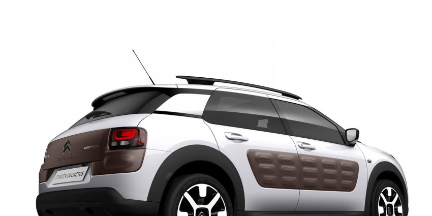 Citroen C4 Cactus unveiled with roof-mounted airbag Image #226858