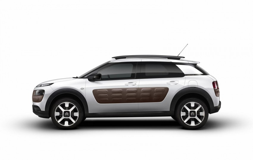 Citroen C4 Cactus unveiled with roof-mounted airbag Image #226859
