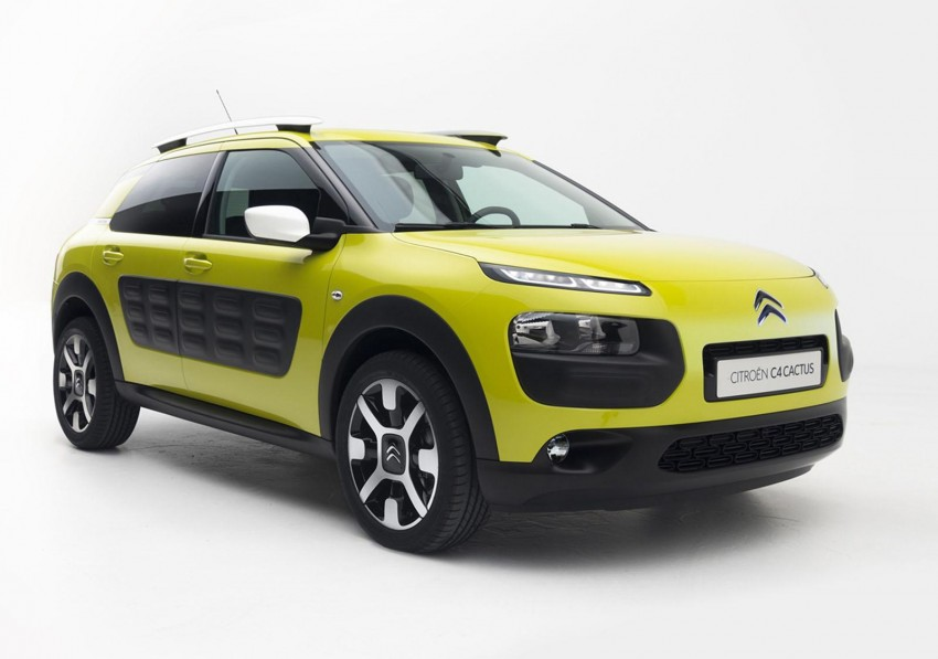 Citroen C4 Cactus unveiled with roof-mounted airbag Image #226860
