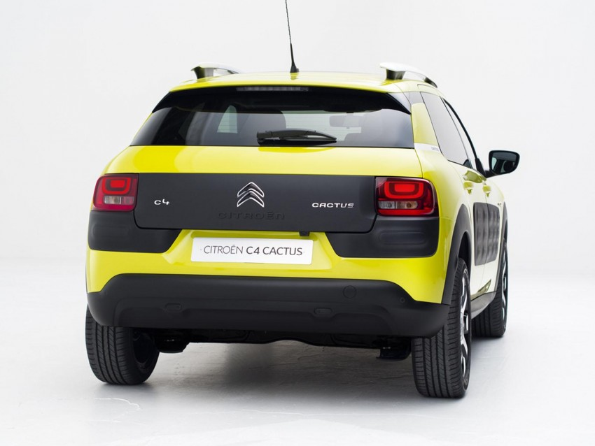 Citroen C4 Cactus unveiled with roof-mounted airbag Image #226862