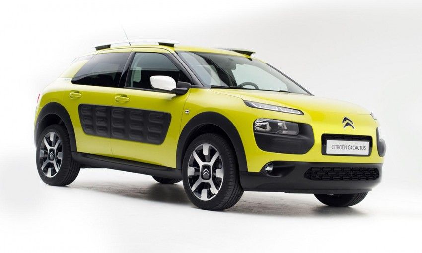 Citroen C4 Cactus unveiled with roof-mounted airbag Image #226864