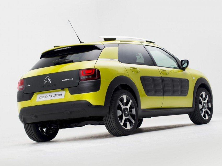 Citroen C4 Cactus unveiled with roof-mounted airbag Image #226865