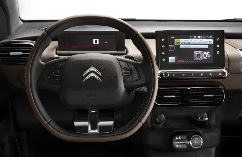Citroen C4 Cactus unveiled with roof-mounted airbag Image #226867