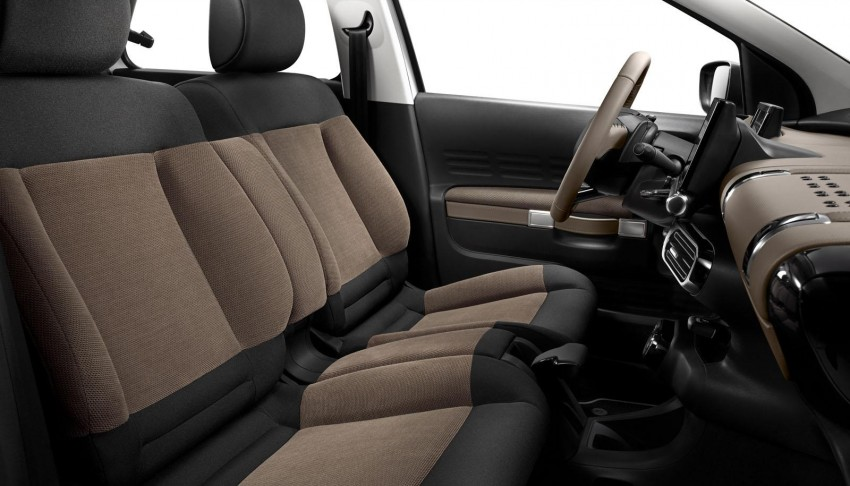 Citroen C4 Cactus unveiled with roof-mounted airbag Image #226872