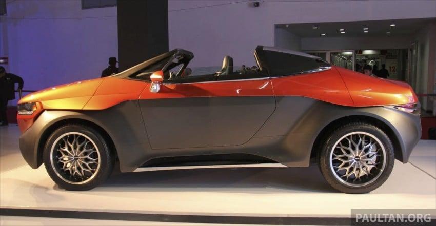 DC Design Eleron – conceptualising a targa-top SUV Image #227742