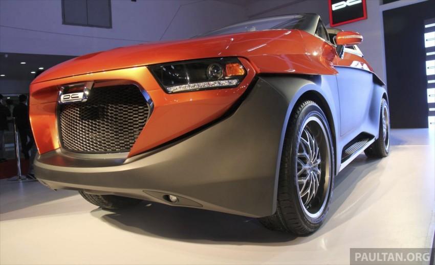 DC Design Eleron – conceptualising a targa-top SUV Image #227743