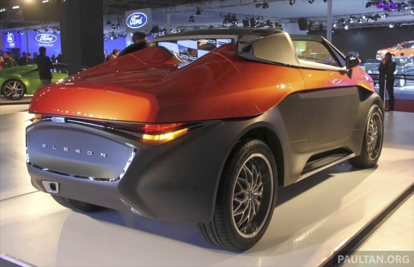 DC Design Eleron – conceptualising a targa-top SUV Image #227744