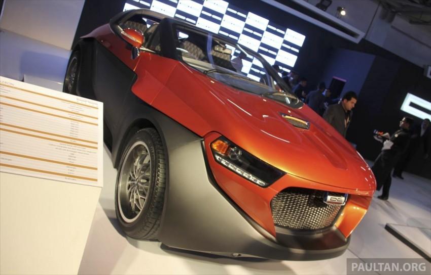 DC Design Eleron – conceptualising a targa-top SUV Image #227750