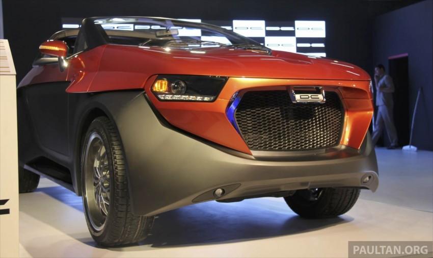DC Design Eleron – conceptualising a targa-top SUV Image #227756