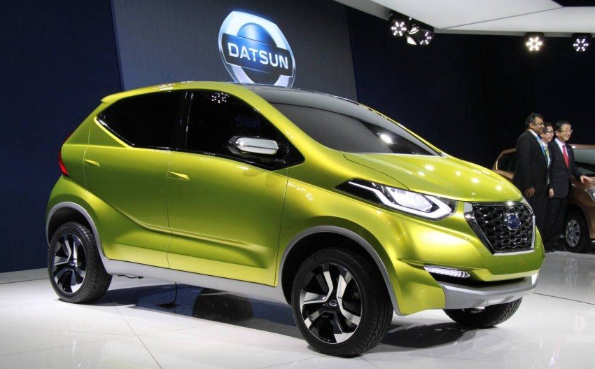Datsun redi-GO Concept mini SUV debuts in Delhi Image #226896