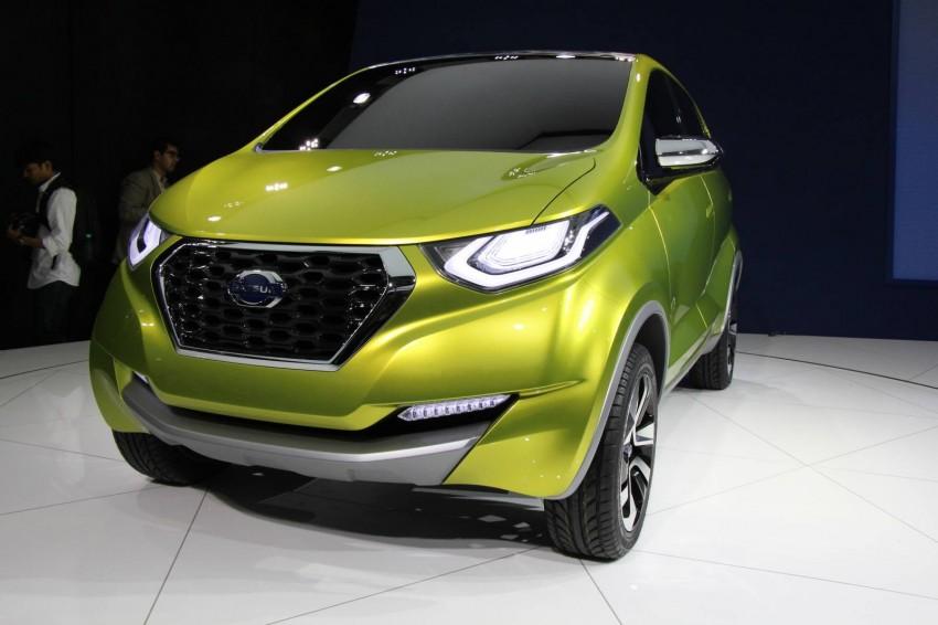 Datsun redi-GO Concept mini SUV debuts in Delhi Image #226897