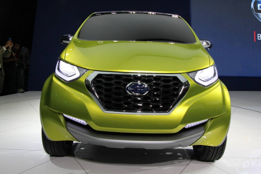 Datsun redi-GO Concept mini SUV debuts in Delhi Image #226898