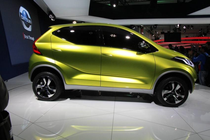 Datsun redi-GO Concept mini SUV debuts in Delhi Image #226901
