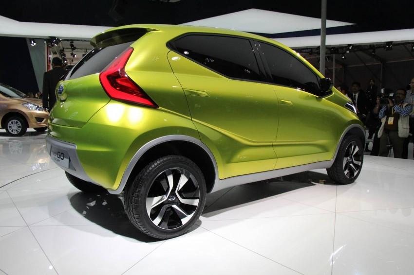 Datsun redi-GO Concept mini SUV debuts in Delhi Image #226902