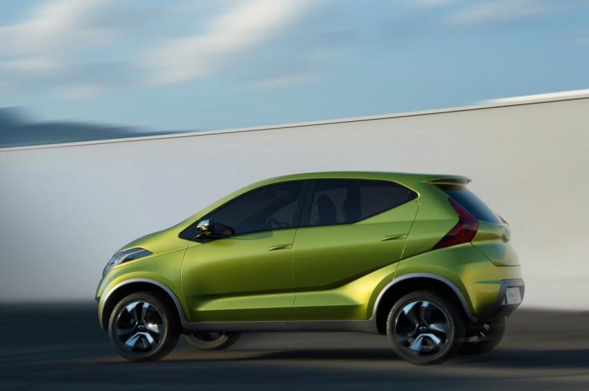 Datsun redi-GO Concept mini SUV debuts in Delhi Image #226905