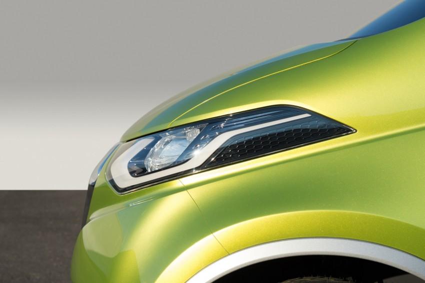 Datsun redi-GO Concept mini SUV debuts in Delhi Image #226908