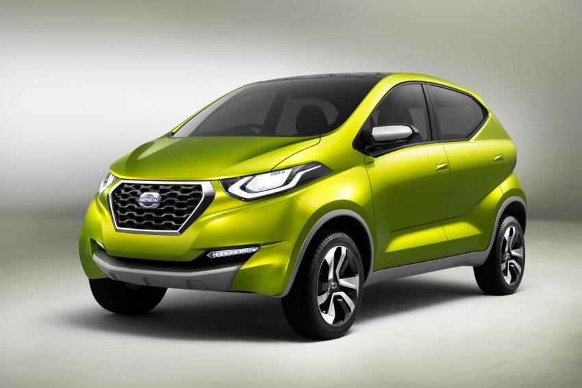 Datsun redi-GO Concept mini SUV debuts in Delhi Image #226911