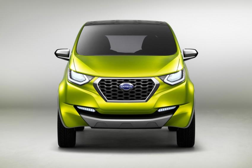 Datsun redi-GO Concept mini SUV debuts in Delhi Image #226912