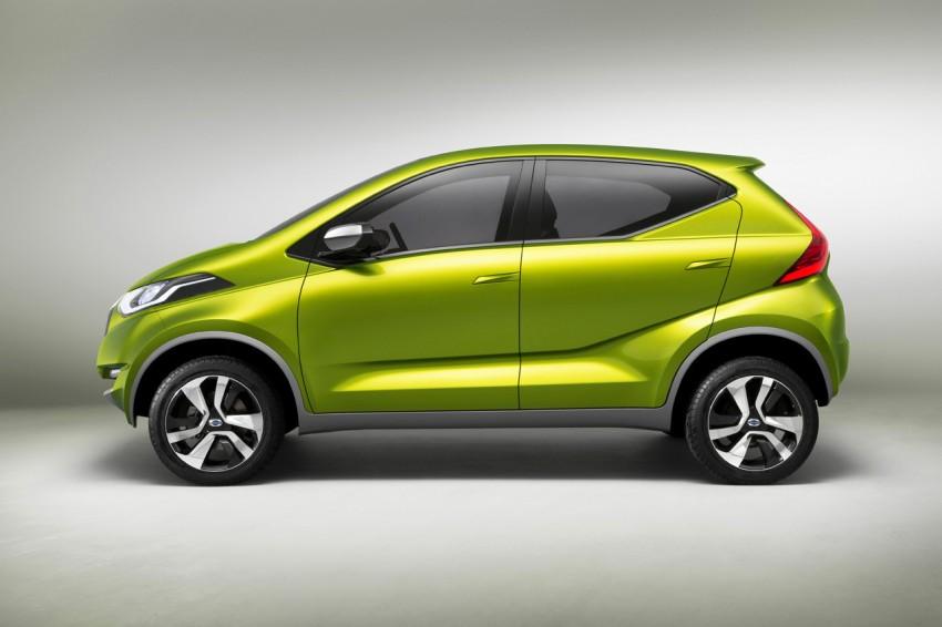 Datsun redi-GO Concept mini SUV debuts in Delhi Image #226913