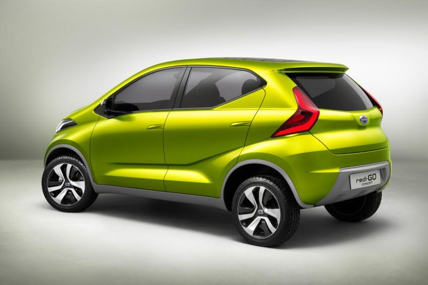 Datsun redi-GO Concept mini SUV debuts in Delhi Image #226914