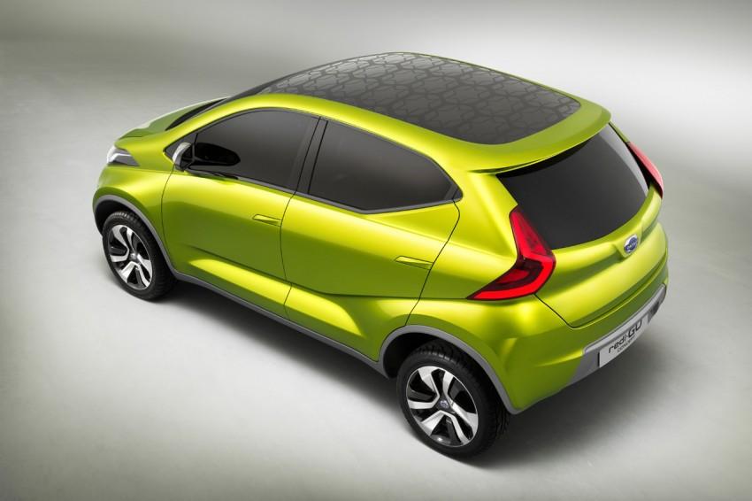 Datsun redi-GO Concept mini SUV debuts in Delhi Image #226916