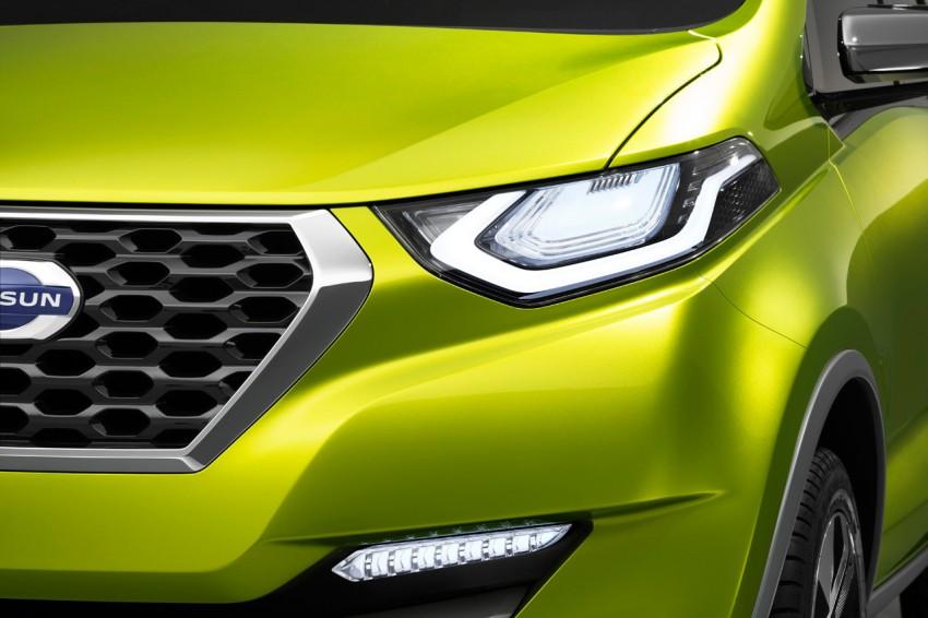 Datsun redi-GO Concept mini SUV debuts in Delhi Image #226919
