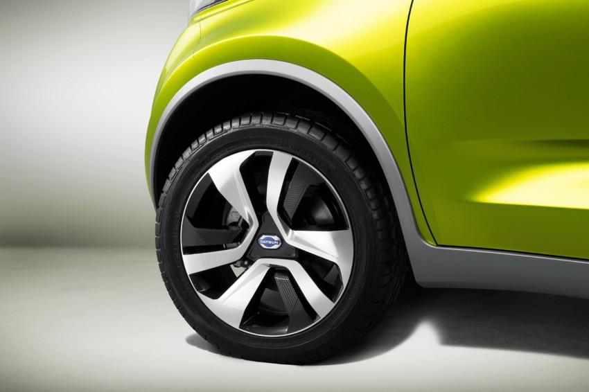 Datsun redi-GO Concept mini SUV debuts in Delhi Image #226922